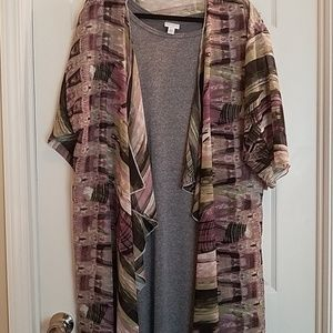 Lularoe 2 piece outfit. Carly and shirley NWT